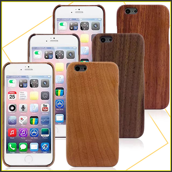 Hot New Shockproof Luxury Bamboo Wooden Grain Phone Case Cover For iphone6 4.7inch Best Manufacturer Support Wholesale Price(China (Mainland))