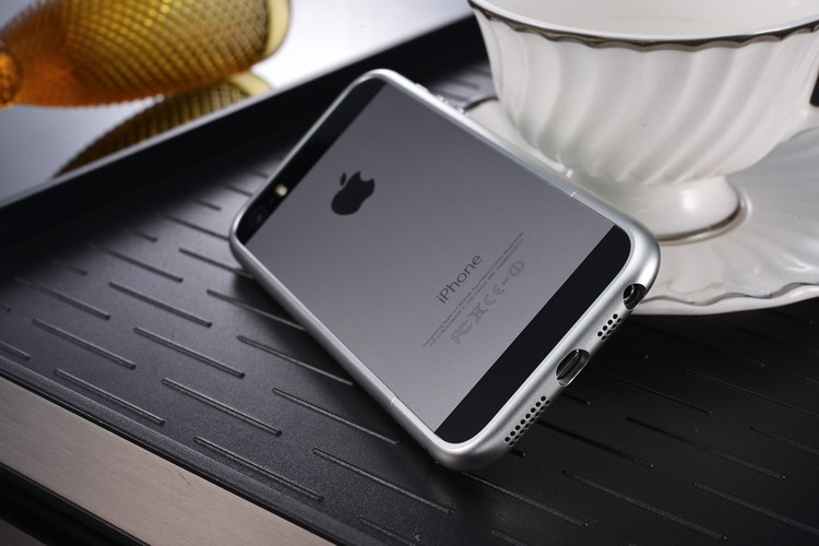 For iphone 5S Luxury circle arc Aluminum Metal bumper for iphone 5 Case mobile phone bags cover Champagne for iphone SE