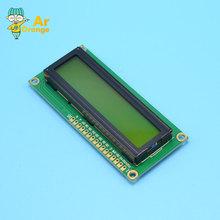 1602 16x2 HD44780 Character LCD Display Module LCM Yellow backlight NEW(China (Mainland))