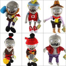 Buy New Arrival Plants vs Zombies Plush Toys 30cm PVZ Zombies Soft Stuffed Toy Doll Game Figure Statue Children Gifts Party Toys for $5.69 in AliExpress store