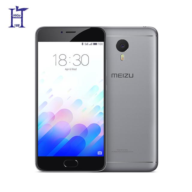 "2016 Original new Meizu M3 Note M681Q cell phone Helio P10 Octa Core 5.5"" 4G LTE 4100mAh13MPAndroid 5.1 1920x1080 2GRAM 16G ROM"