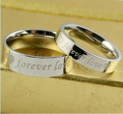 JZ0008 men never fade forever love couple rings, wedding rings for men and women fashion(China (Mainland))