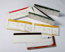 Airline printed boarding pass stickers luggage labels(China (Mainland))