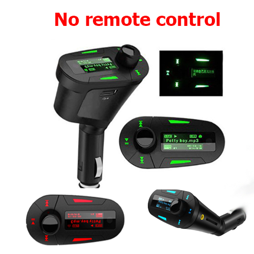 1 PCS Car MP3 player digital remote control wireless FM transmitter Mucsic Player The audio USB No Remote Control Free Shipping(China (Mainland))