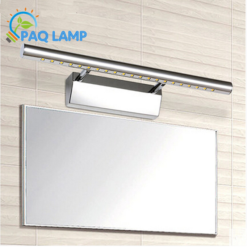 Modern fashion LED mirror front lamp Stainless steel Waterproof rustwall Bathroom Light ceiling Lamp AC90V-260V<br><br>Aliexpress