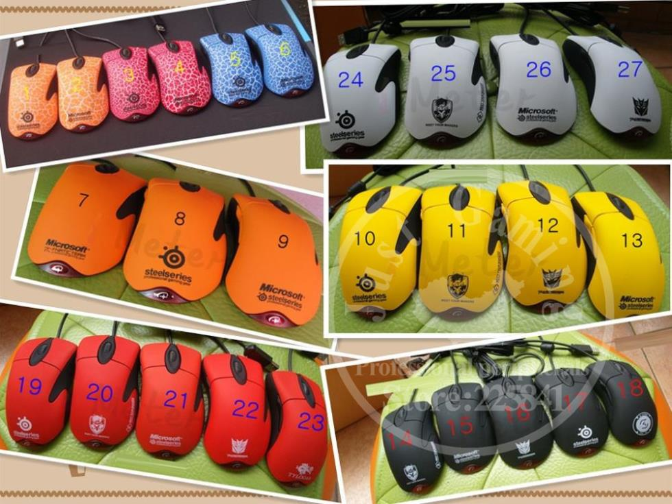 27Kinds Rubber Genuine Microsoft Intellimouse Explorer 3.0 edition 400DPI USB gaming mouse(China (Mainland))
