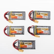 11.1V 1500Mah 3S 40C Li-Po Battery Max 60C XT60 Plug For RC Quadcopter Drone Helicopter Car Airplane Toy Parts 5pcs