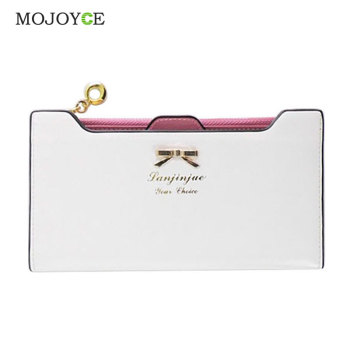 Fashion Wallet Female Carteira Feminina Lady Women Purse Long Zip Wallets PU Thin Card Holders Purse Women Portefeuille Femme