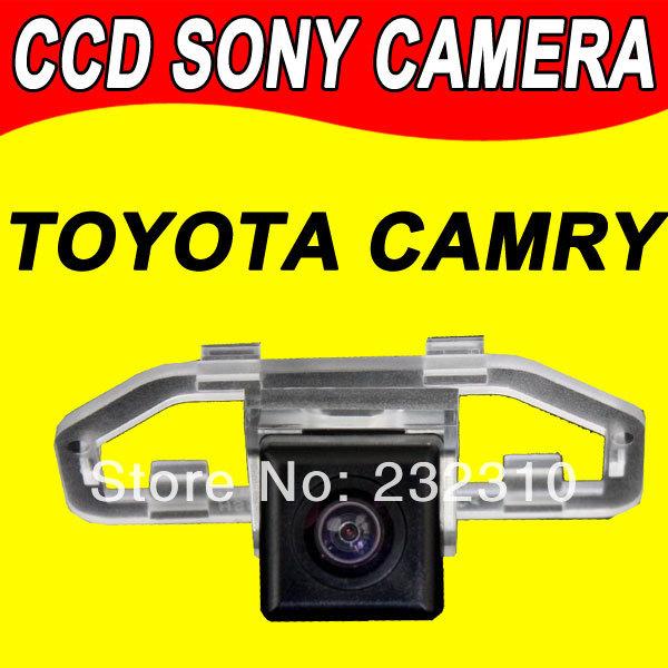 For Sony CCD Toyota Camry Car backup parking reverse car camera waterproof 170degree for radio gps auto navi(China (Mainland))