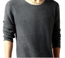 2016Male turtleneck sweater thickening slim pullover black turtleneck sweater men's clothing winter sweater(China (Mainland))