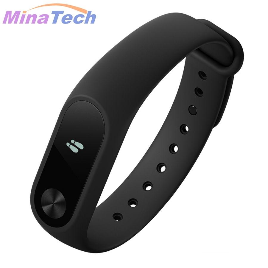 image for In Stock 100% Original Xiaomi Mi Band 2 Miband Band2 Wristband Bracele