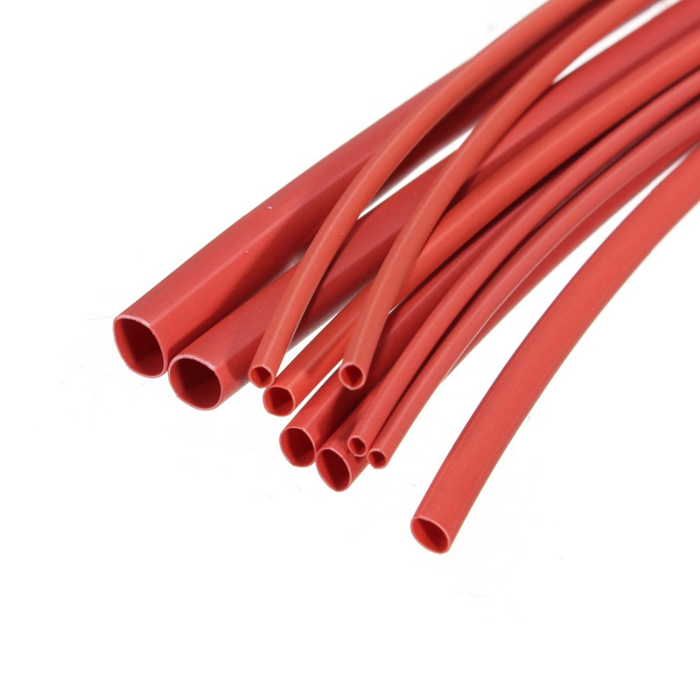 70pcs 2 1 5 Sizes 7Colors Assortment Polyolefin H type Heat Shrink Tubing Tube Sleeving Wrap