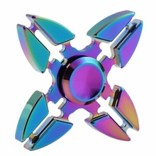 Buy Rotation Time Long Tri-Spinner Fidget Funny Toys Metal EDC Fidget Spinner Hand Spinner Kids Adults Anti Stress Toys for $13.50 in AliExpress store