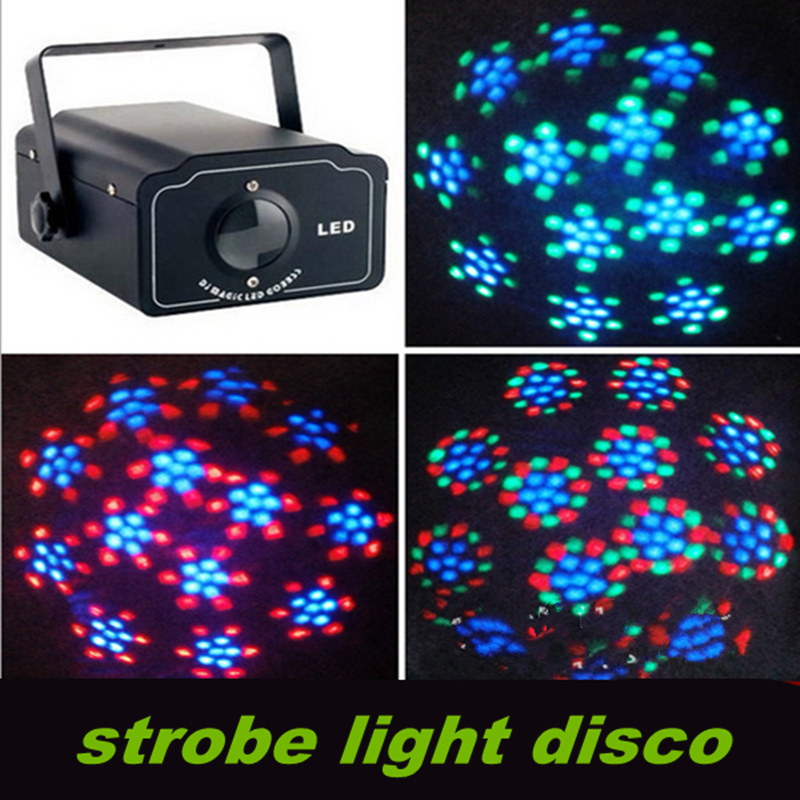 High quality LED water stage lighting, voice pattern Moonflower rotary clubs, KTV / DISCO / party effect lights, 210*150*100mm <br><br>Aliexpress