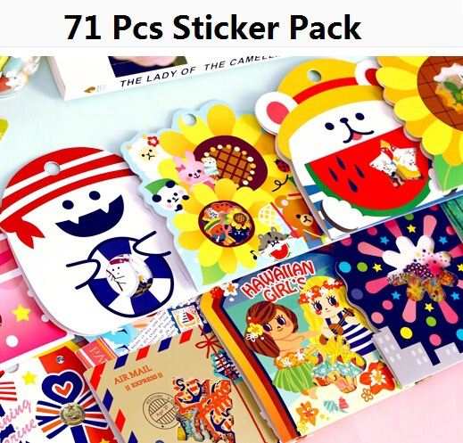 Japan Animal Family II series Gift seal flake/sticker pack/bag hot selling decoration packing stickers/Kawaii/retail<br><br>Aliexpress