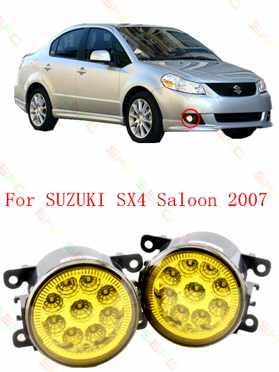 LED Fog Lamps  For SUZUKI SX4 Saloon 2007 year  2 PCS<br><br>Aliexpress