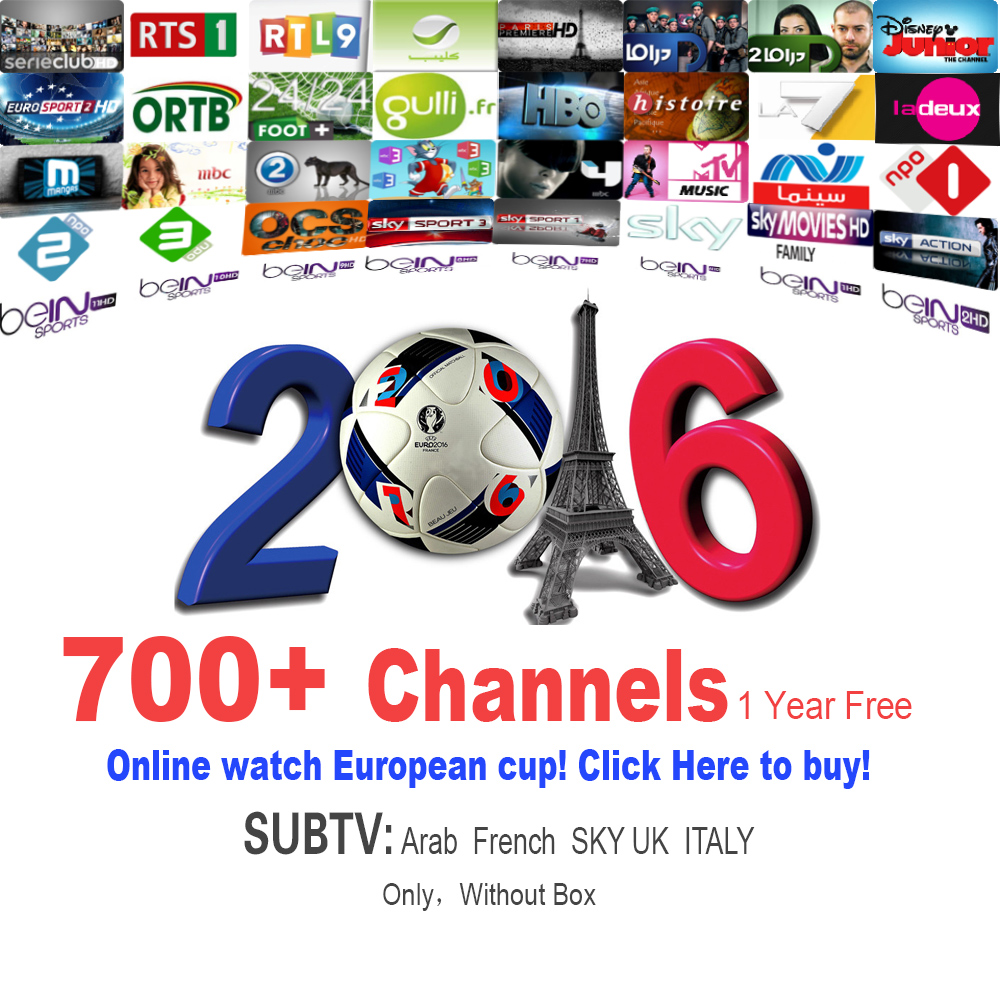 1 year Arabic French Sky Italy UK Deutsh IPTV Apk service subscription  support MAG25X,Smart TV android tv satellite receiver - drone4sky