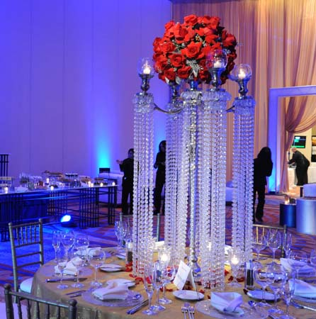 2015 acrylic crystal wedding centerpiece wedding for Crystal decorations for home