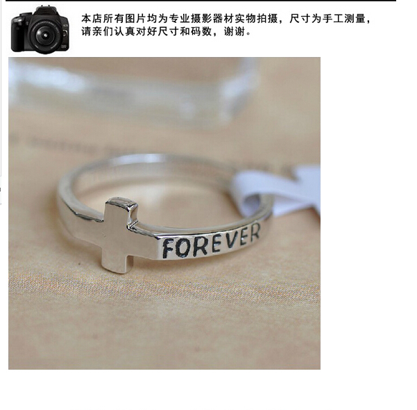 18K Rose Gold Plated Fashion Design forever Engagement Wedding Band Ring for Woman(China (Mainland))