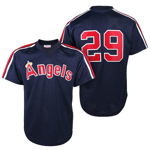 #29 Rod Carew 1984 angels jersey men's throwback baseball jerseys Plus size retro California Angels baseball jersey(China (Mainland))
