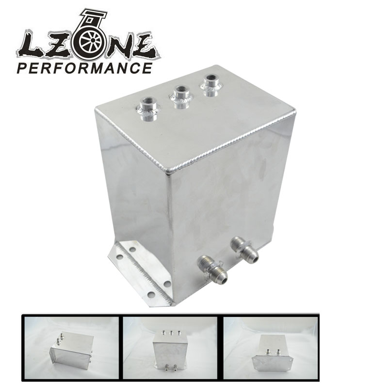 LZONE RACING-Universal FUEL surge tank&fuel cell&oil tank 6L for universal car model, mirror polished HQ. JR-TK44S(China (Mainland))