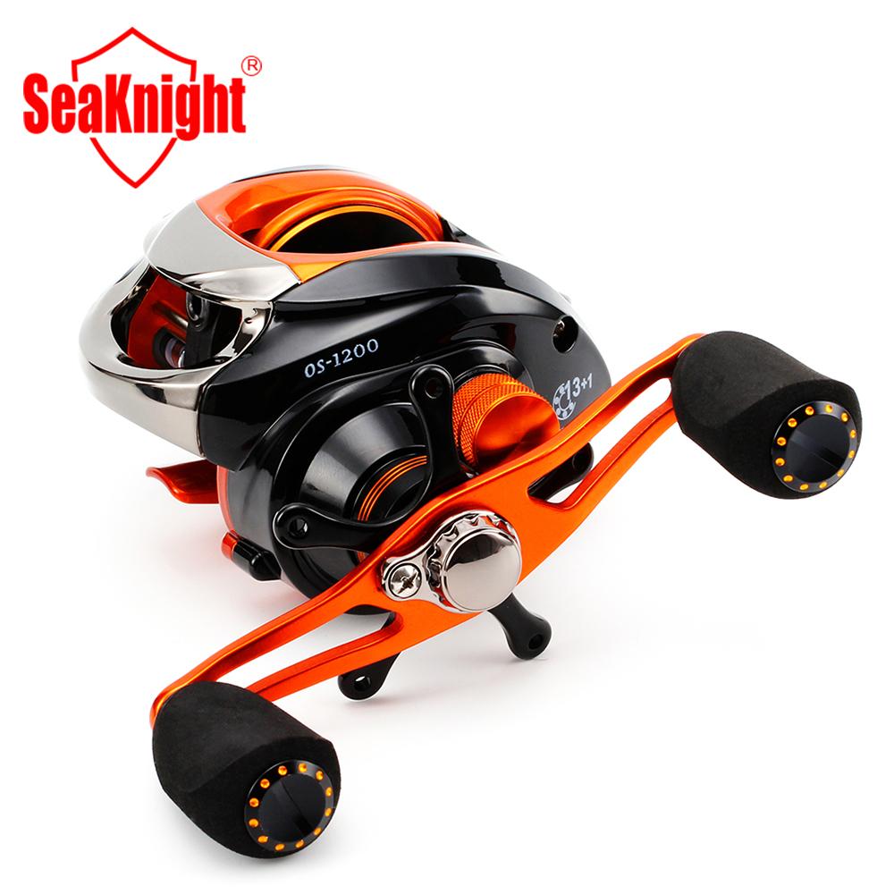 SeaKnight Brand 2015 New OS1200 185g Super Light Anti-Corrosive 14BB Fresh/Salt Water Baitcasting Fishing Reel Lure Fishing Reel(China (Mainland))