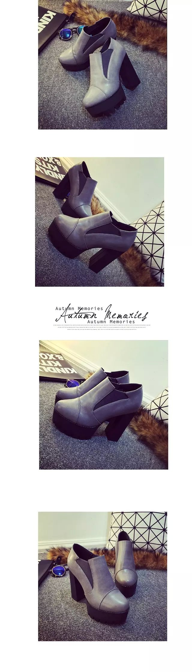 [H][C]2017 women's Shoes  Boots high-heeled Shoes Platform Shoes Thick Heels Shoes High Heel Pumps For Girls  .DFGD-99-1
