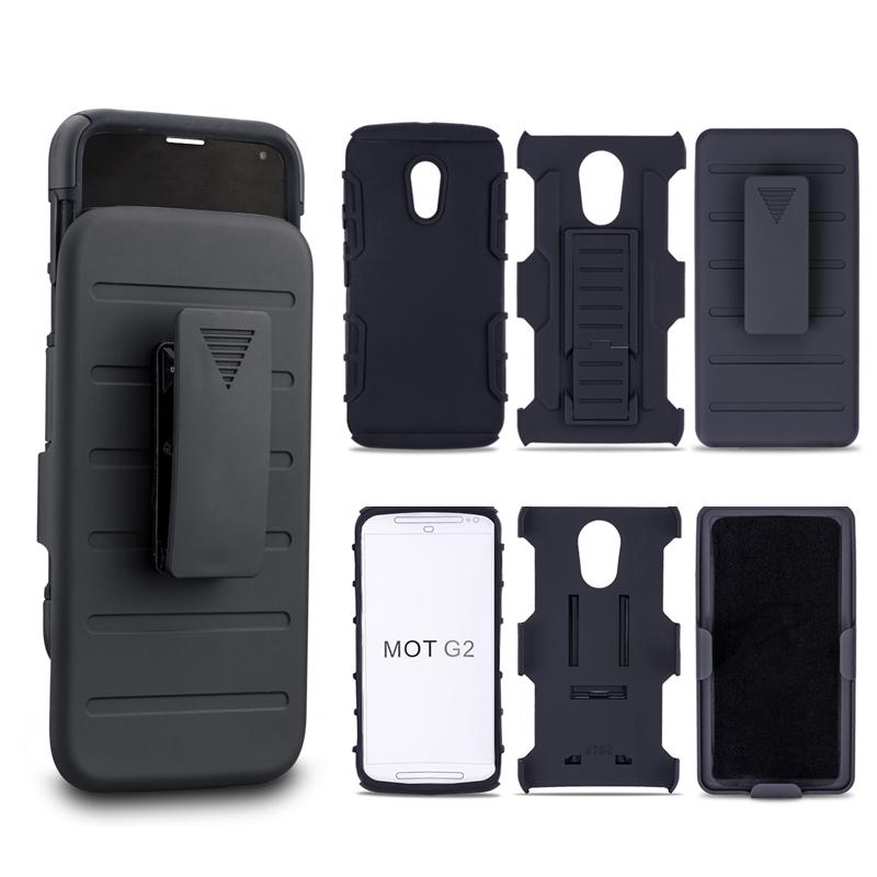 For Motorola Moto G2 G+1 XT1063 XT1068 XT1069 2014 Case Shockproof Impact Rugged Combo Hard Phone Case Slide Cover(China (Mainland))