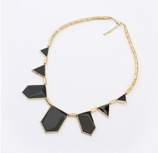 2015 Fine Jewelry Jewelry Factory Direct Sales In Europe And America Fashion Geometric Pattern Personality Necklace Cz900497(China (Mainland))