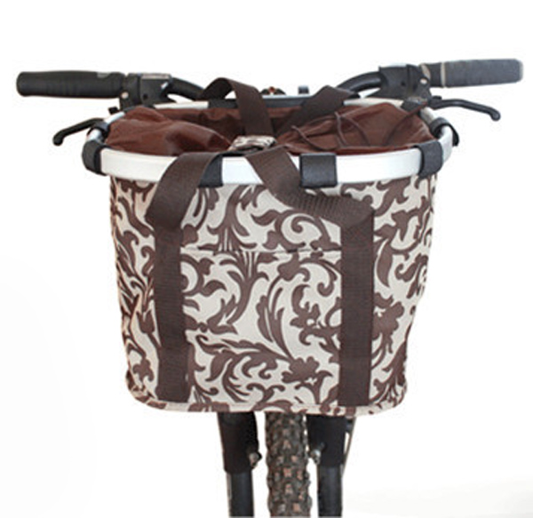 High quality aluminum mountain bike basket quick-disassembly bicycle pet carrier bag bicycle basket for dogs and cats(China (Mainland))