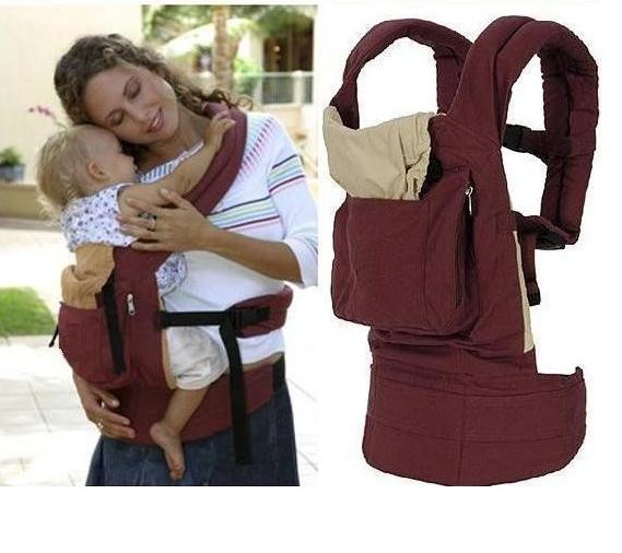 Popular 2 Colors Red and Blue Baby Carrier Baby Sling Infant Carriers Kid Keeper Cotton(China (Mainland))