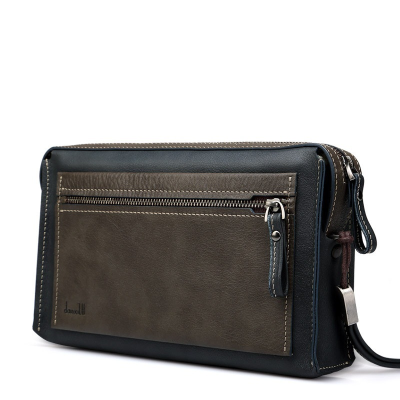 2015 New Business Casual leather Clutch Wallet Mens long wallet JSH373<br>