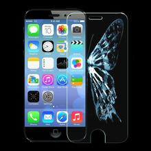 1pcs/lot 2.5D Premium Slim Tempered Glass Screen Protector For iphone 6 4.7 High Clear Protective Film With Retail Package FLM