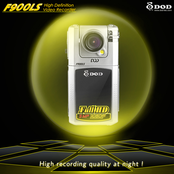 "100% original  Full HD DOD F900LS CAR DVR  Ultra Night vision  2.5"" TFT LCD   H.264  5 Mega pixels CMOS"