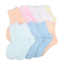 Free shipping 12 Pairs of Comfy Cotton Fabric Socks for 3 6 Years Old Children Kids