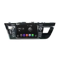 Cortex A9 HD 1024*600 Quad Core 1.6G CPU 16GB Flash Android 5.1.1 Car DVD Player Radio GPS Navi Stereo for Toyota LEVIN 2014