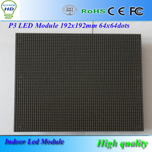 P3 Indoor Full Color LED Module 1/16 Scan SMD 2121 3in1 RGB 192*192mm LED Display, Indoor Full Color LED Screens, LED Signs(China (Mainland))