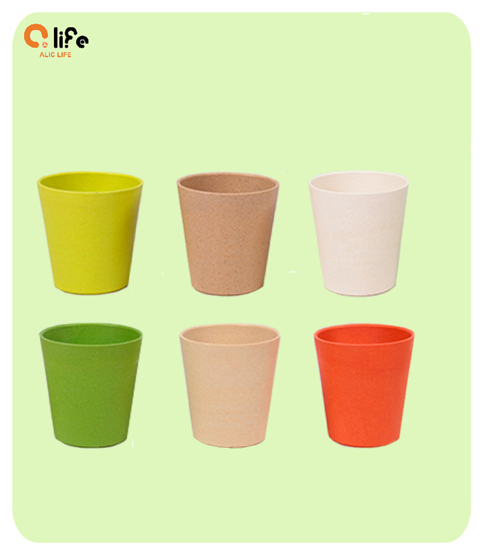 2015 New Eco friendly Healthy Bamboo Fiber Drinkware Coffee Cup Mugs Ceramic Eco Cup Outdoor Travelling Tea Mugs (China (Mainland))