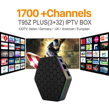 Buy Octa Core Android IPTV BOX T95ZPLUS Free 1700 Europe Arabic IPTV Channels S912 3GB/32GB Smart TV Box WIFI H265 Media Player for $87.99 in AliExpress store