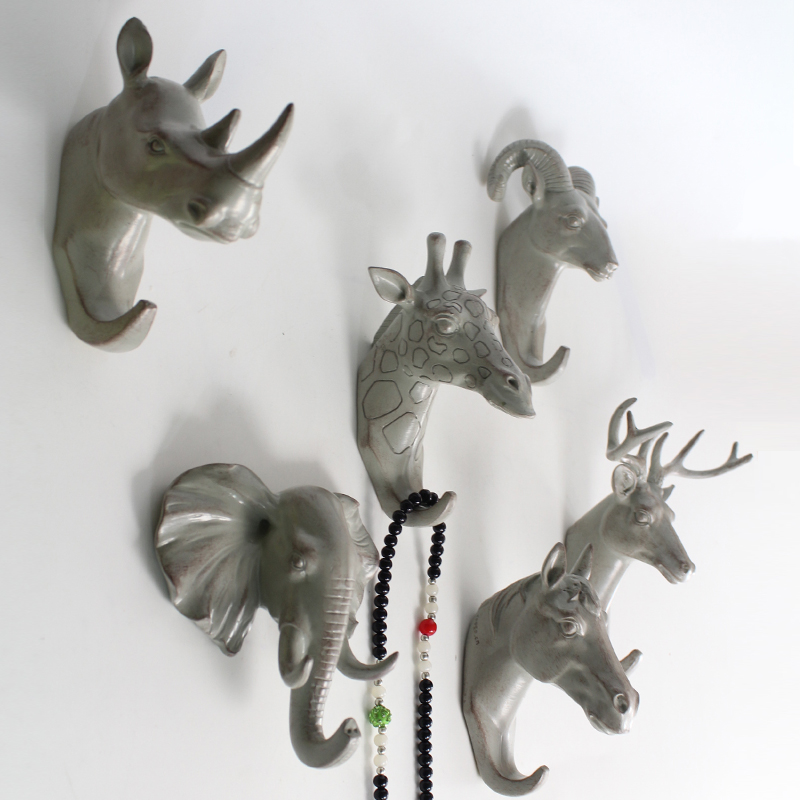 Animal head for crafts for Animal head wall decoration