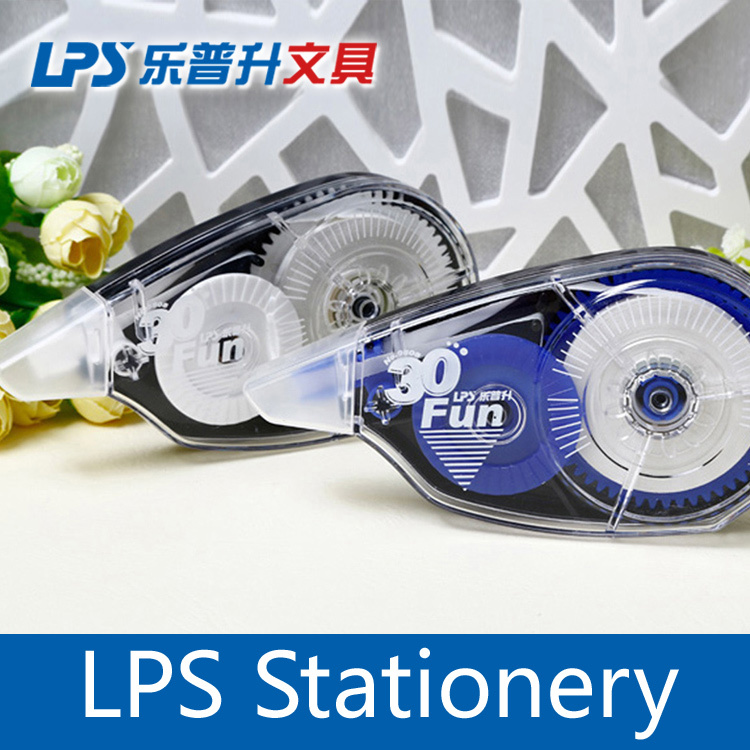 LPS Highlighter Correction Tape 9808 for office ,correction tape for school,correction tape 5mm*24M, 12 pack(China (Mainland))