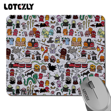 """New Arrivals Kawaii Harry Potter Doodle mouse mat league of legends Mouse pads rubber pad overlock edge Size 7.08""""*8.66"""" inch(China (Mainland))"""