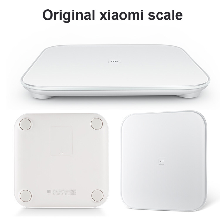 100% original xiaomi smart weight scale mi scale digital support android ios 1pcs free shipping(China (Mainland))