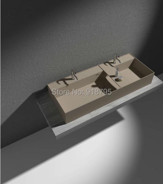 Badkamer wastafel steen home design idee n en meubilair inspiraties - Meubilair vormgeving van de badkamer dubbele wastafel ...