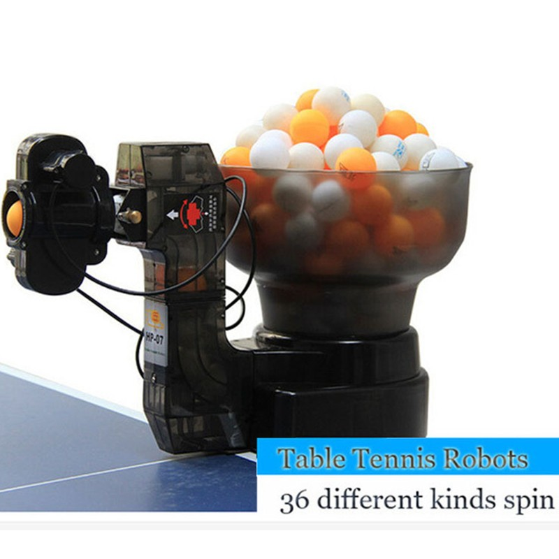 HP-07 Ping Pong Table Tennis Robots Ball Machines ,automatic ball machine 36 spins home practicing on machine(China (Mainland))