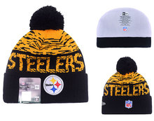 2016-2017 new arrivals,high quality Pittsburgh Steeler beanies,Pittsburgh Steeler knitted hats(China (Mainland))