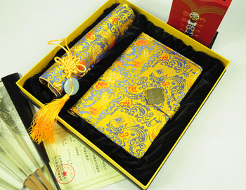 Free shipping!!! Gift brocade commercial gift brocade notebook brocade mouse pad
