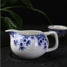 New Design Traditional Chinese Porcelain Tea Set with 1pc Gaiwan 1pc Tureen 6pcs Tea Cup