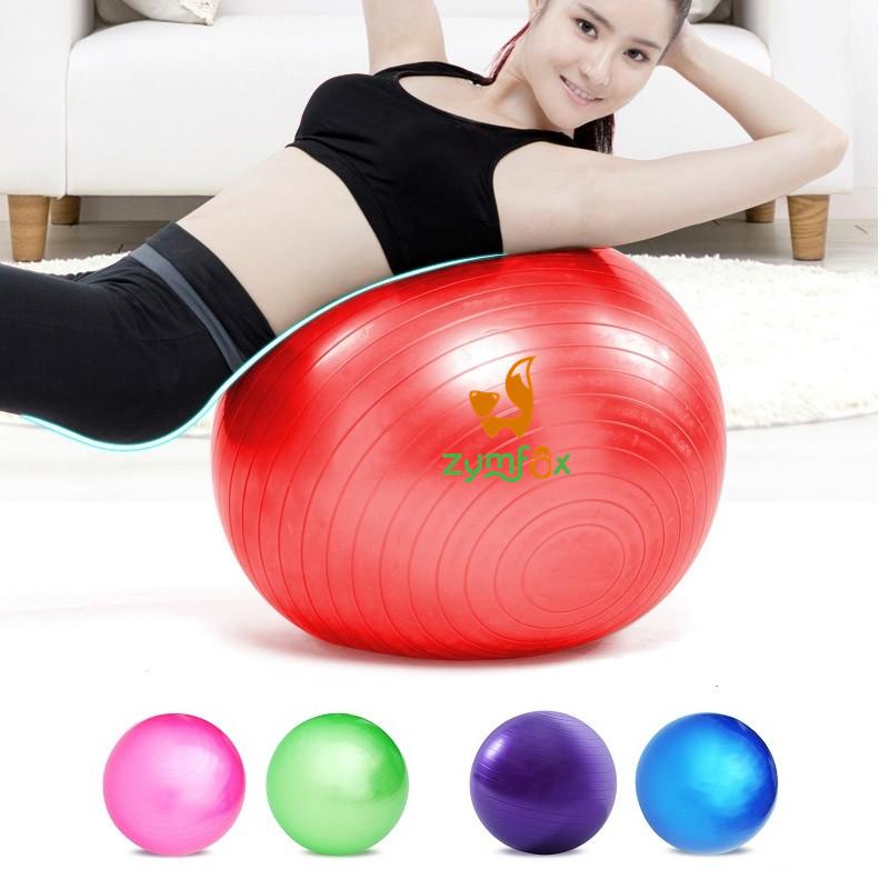 75cm Bosu Balance Gymnastic Ball,Yoga Pilates Fitball Home Gym Ball,Slim Fitness Powerball Exercise Equipment+Inflatable pump(China (Mainland))