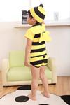 2016 yellow  and black  stripe bee shape childrens swimsuit for boy one piece swimwear SW206 5pcs/lot<br><br>Aliexpress